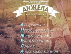 Анжелика: значение имени Анжелика,  история
