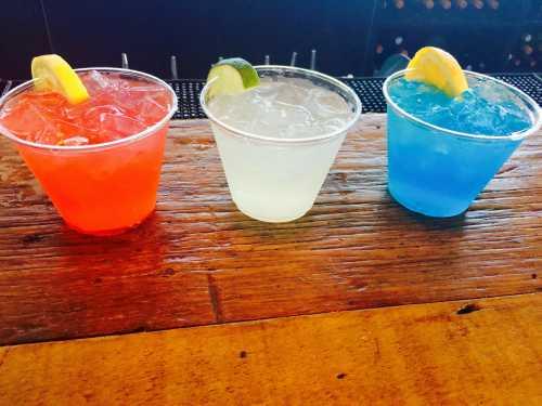 Голубые коктейли 16 рецептов