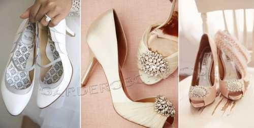 Подбираем свадебную обувь