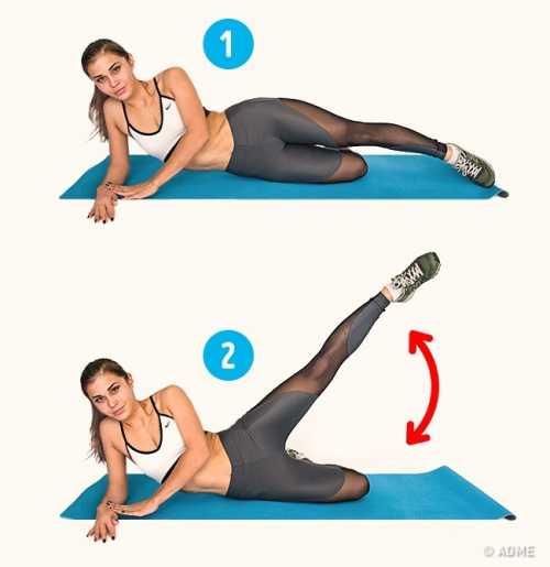 Самые эффективные упражнения против целлюлита:
