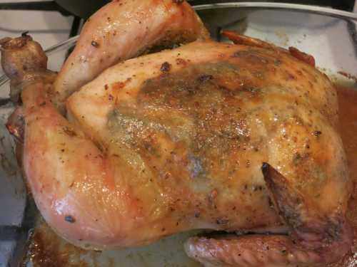 Курица с корочкой