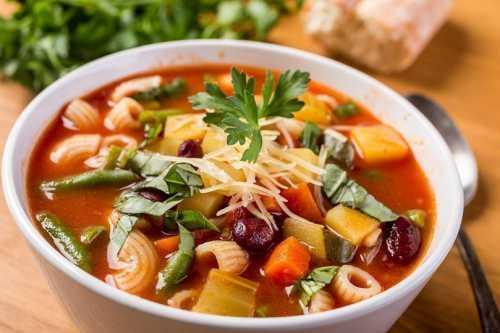 Рецепты итальянских супов, секреты выбора