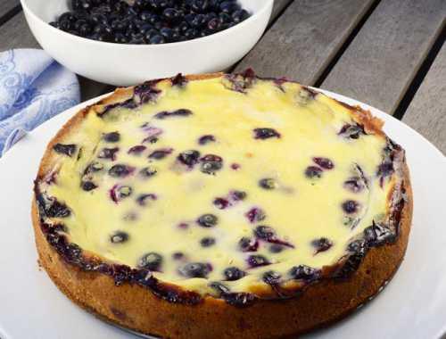 Рецепты пирога с черникой в мультиварке, секреты