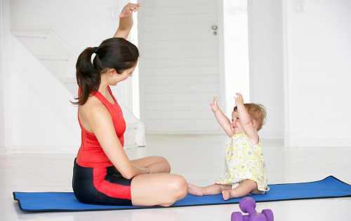 Воспитание детей, упражнения для похудения, как найти время