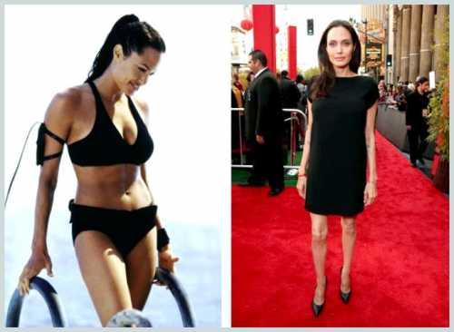Анджелина Джоли поправилась и посвежела