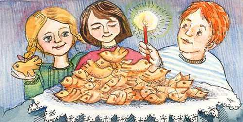 Православный праздник Сороки